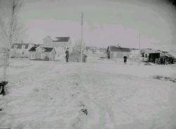 Landsbygd, bebyggelse.