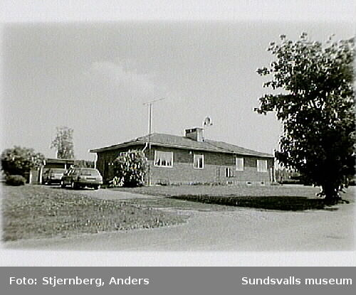 Ramviks f.d. sågverk, Högsjö sn, Härnösands kommun; bostadshus.