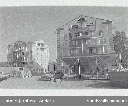 3 nya punkthus. Fd Östermalms skola.