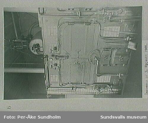 Ångpanna nr 3, uppsatt 1901.Elektricitsverket 1903