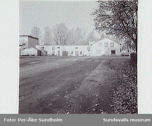 Matfors centrum, Röhmans lanthandel, Folkets hus.
