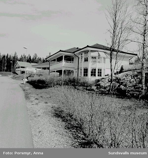 Fotografering av Västra och Östra  Granloholm, för samarbete med högskolan.Gator, se bildtext.
