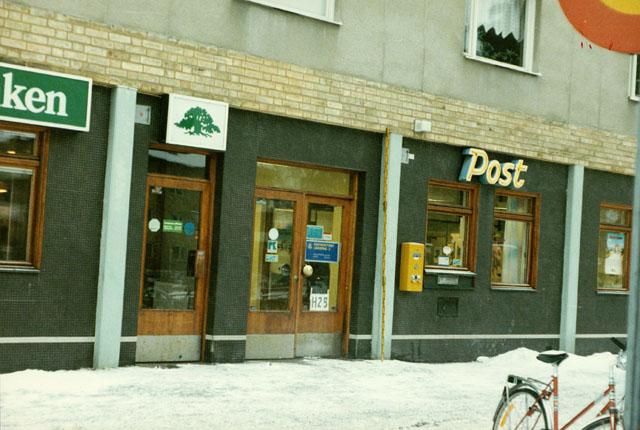 Postkontoret 580 05 Linköping Bjälbogatan 2