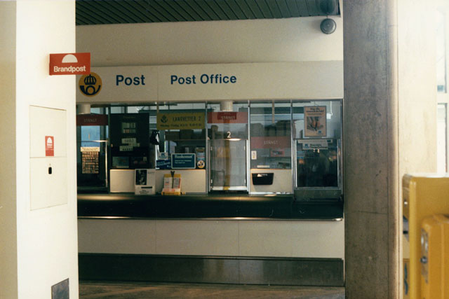 Postkontoret 438 02 Landvetter Göteborg-Landvetters Flygplats