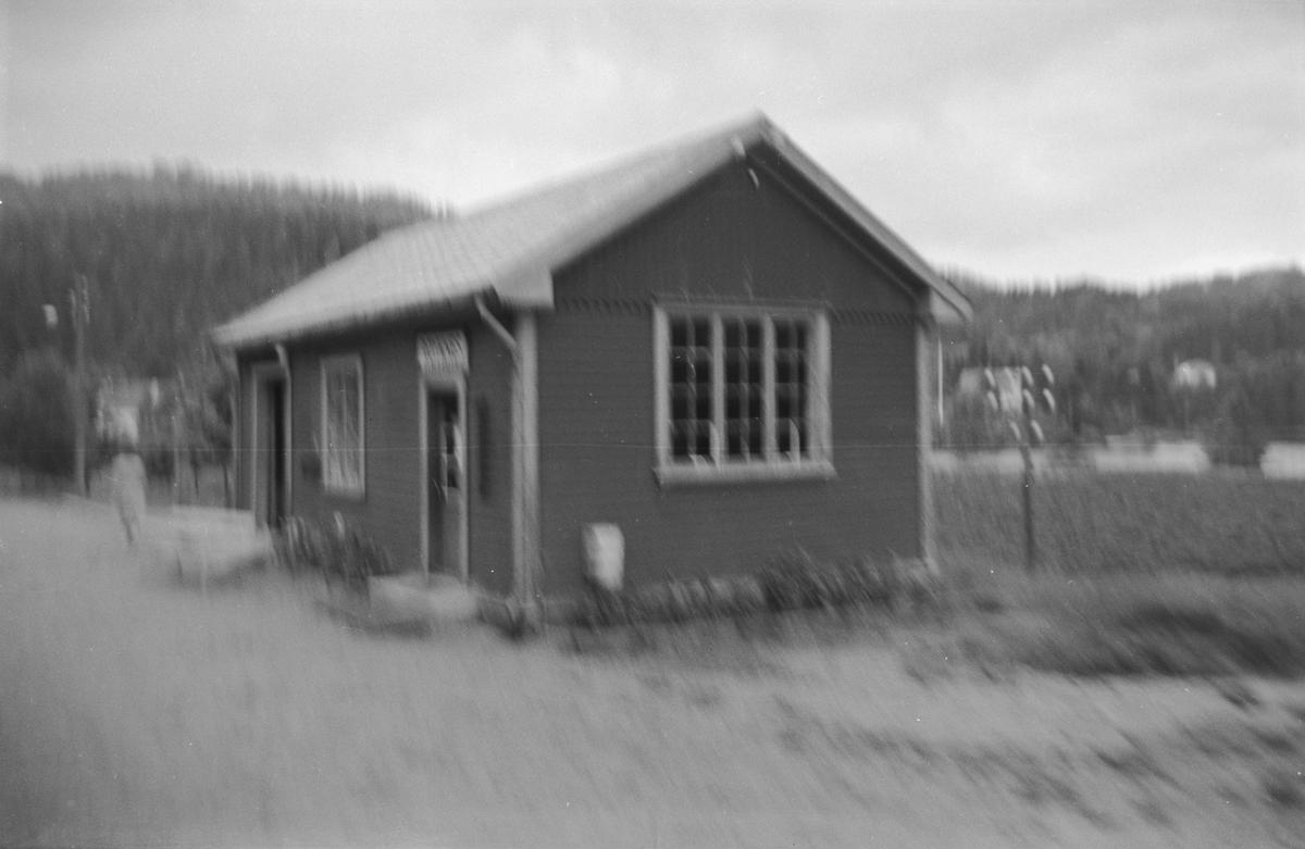 Røyknes stasjon på Setesdalsbanen