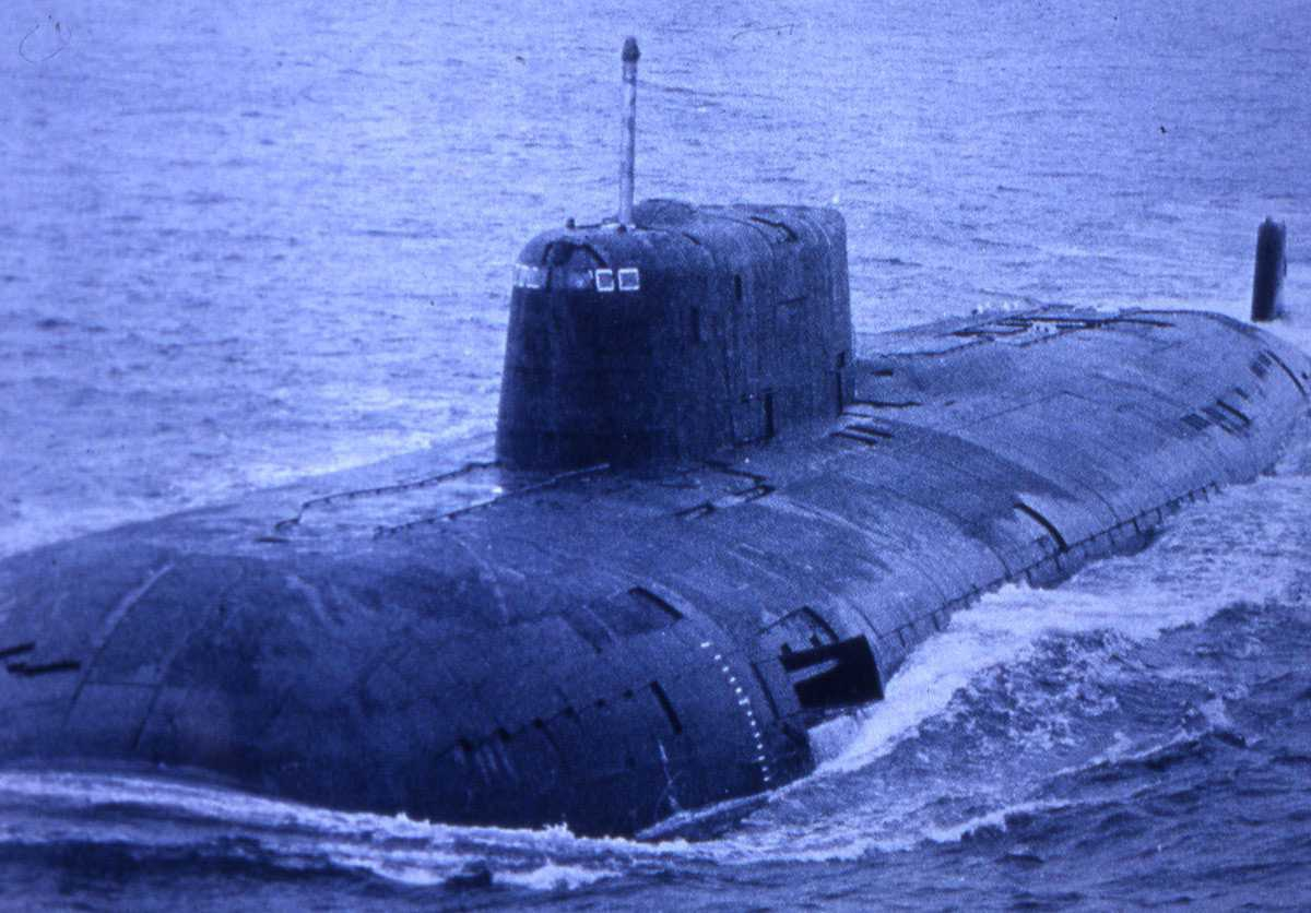 Russisk ubåt av Oscar - klassen.