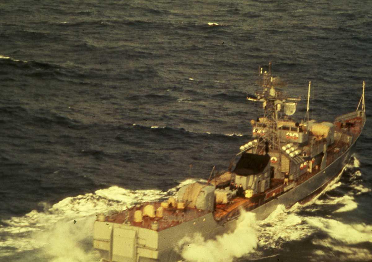 Russisk fartøy av Petya III - klassen.