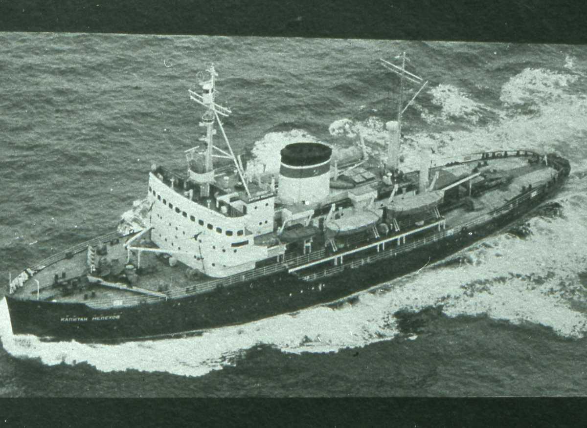 Russisk fartøy av Kapitan - klassen og heter Kapitan Melechov.