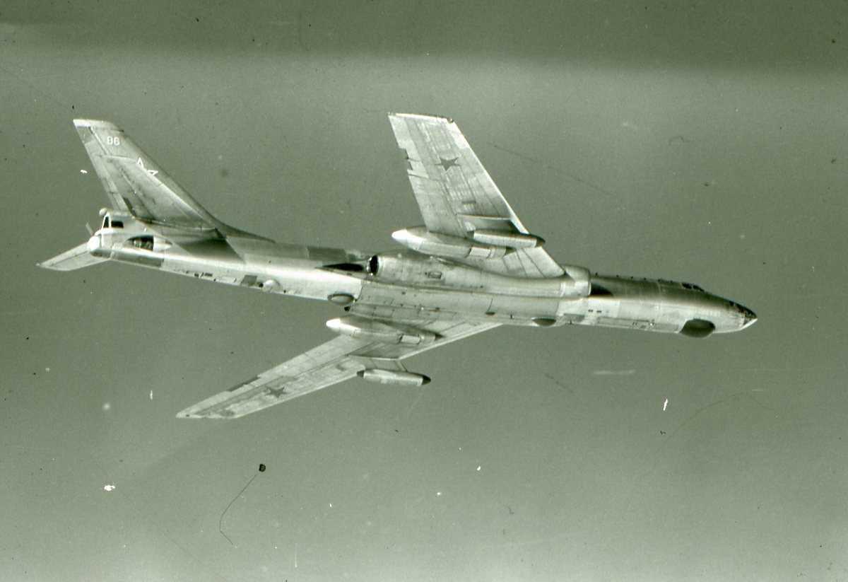 Russisk fly av typen Badger F.