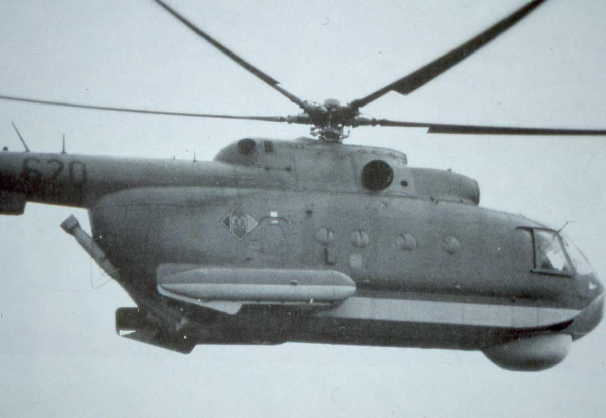 Russisk helikopter av typen Haze A.