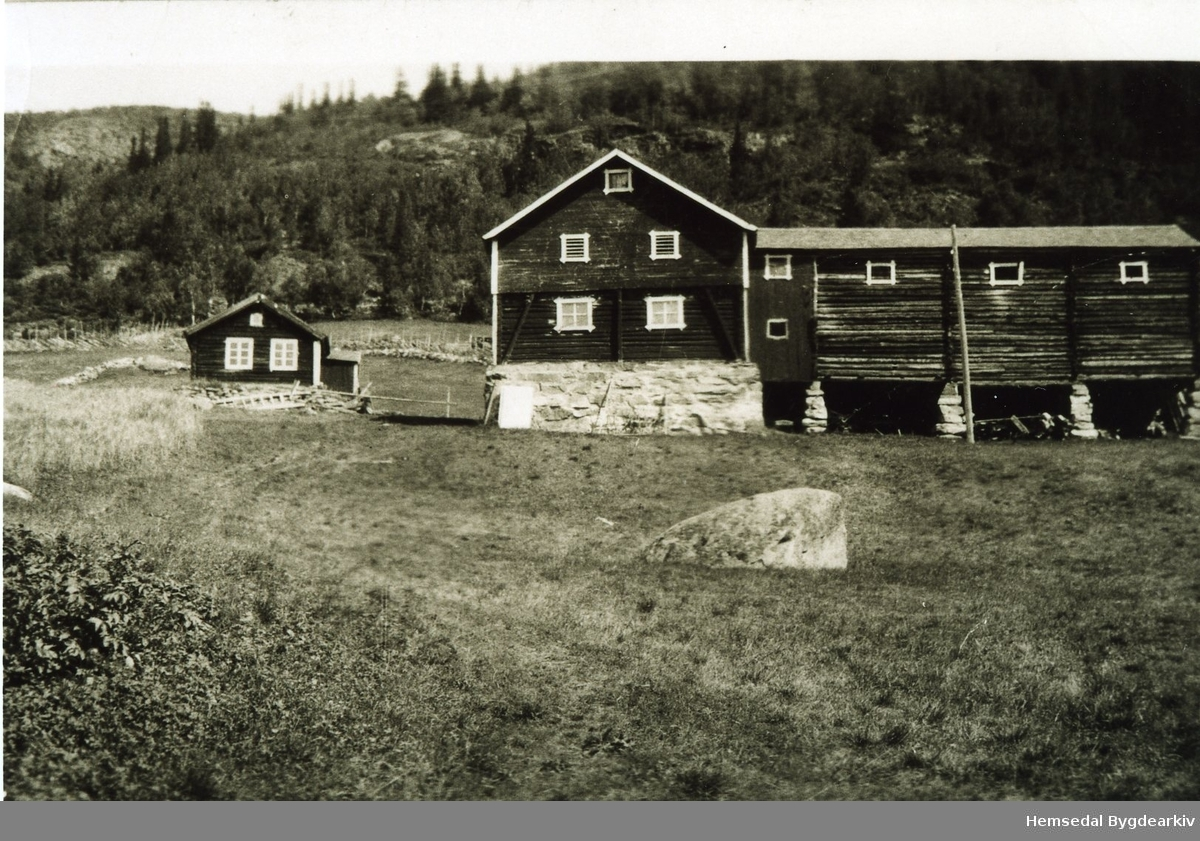 Nordre Øvre Ulsaker, 62.3, der husa sto før