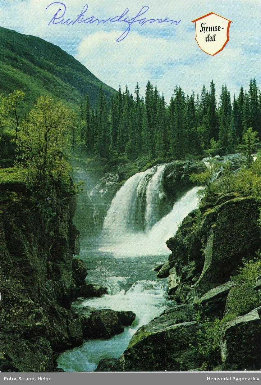 Rjukandefossen på Tuv i Hemsedal