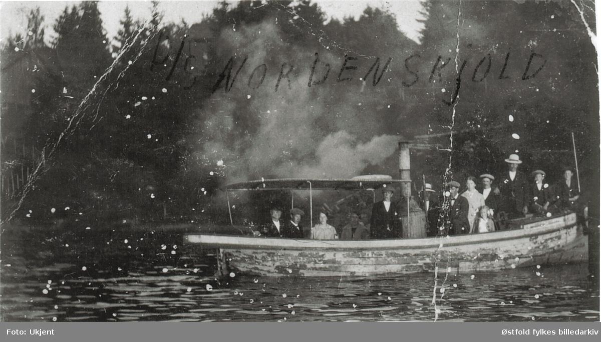 båt,dampbåt, D/S Nordstjernen,  gruppe13,