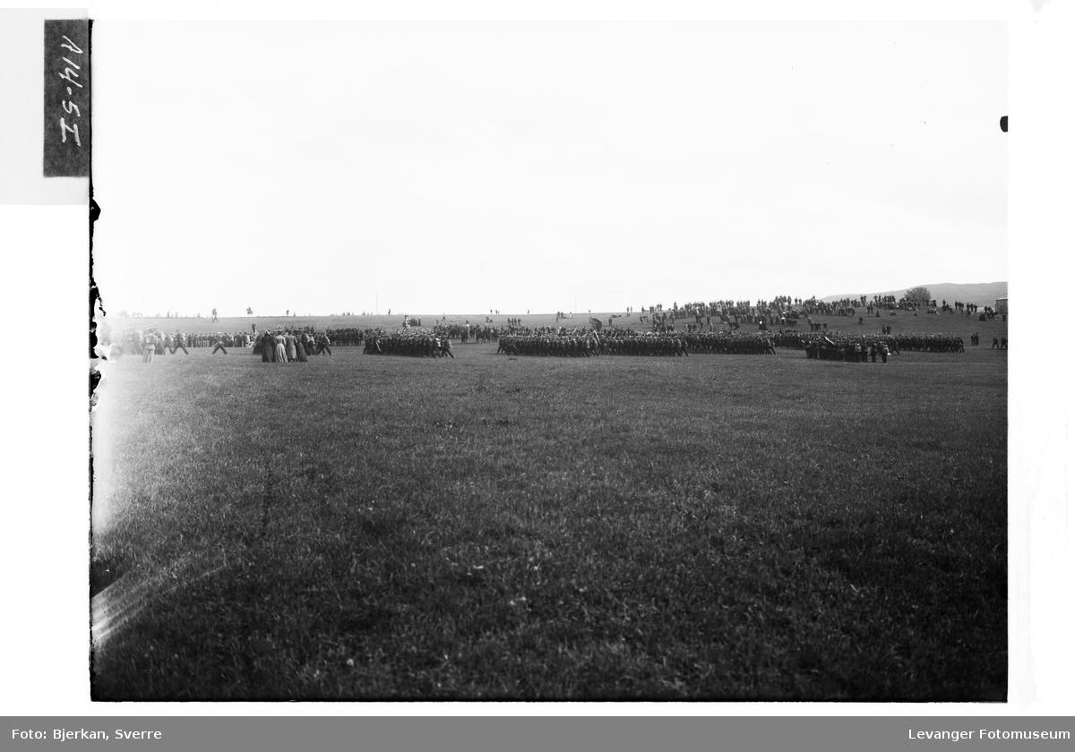 Oversiktsbilde fra Rinnleiret sommeren 1905 VI