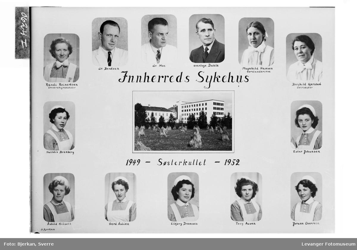Innherreds Sykehus. Søsterkullet 1949-52