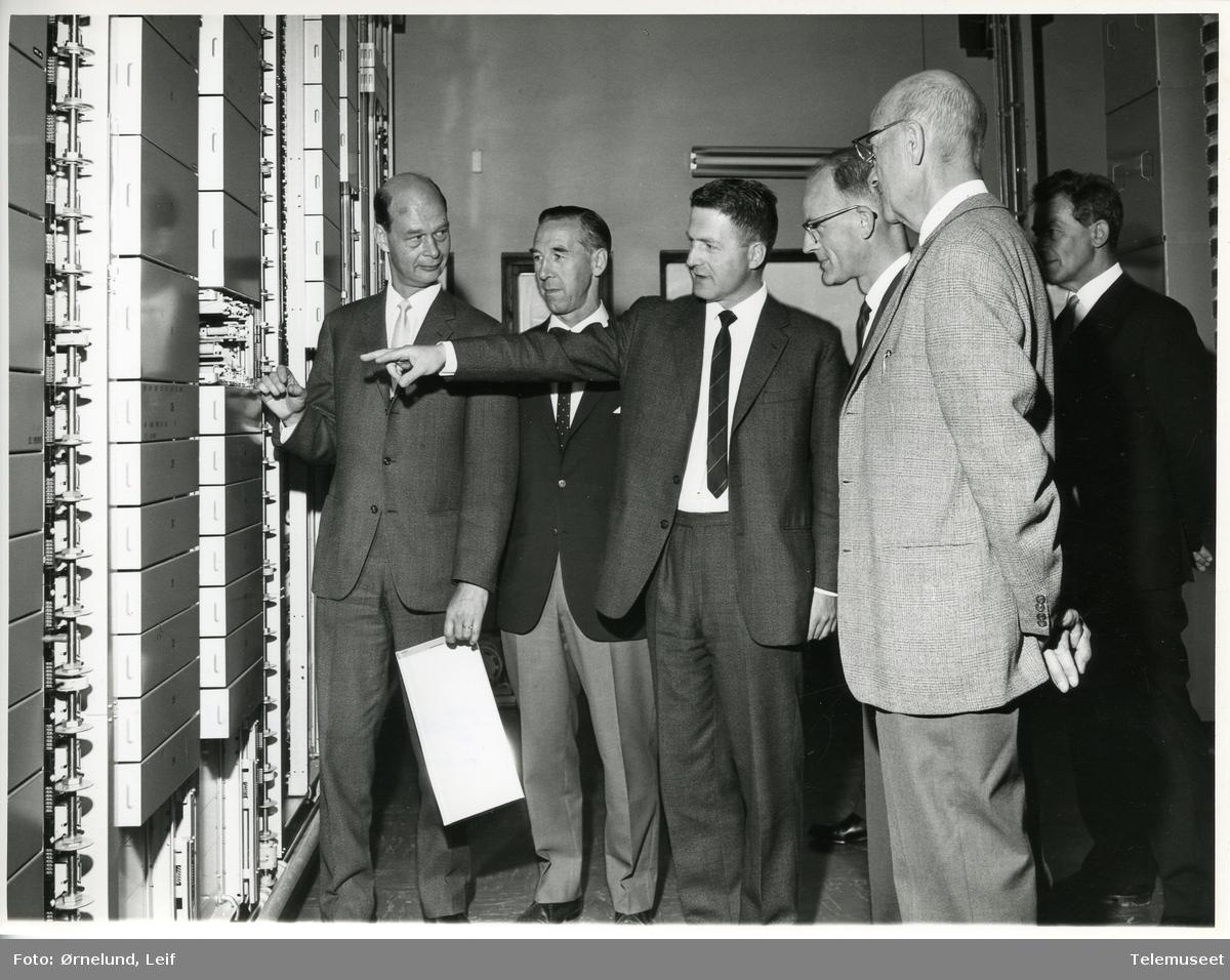 Standard Telefon og Kabelfabrik Produksjon av telefonsentraler