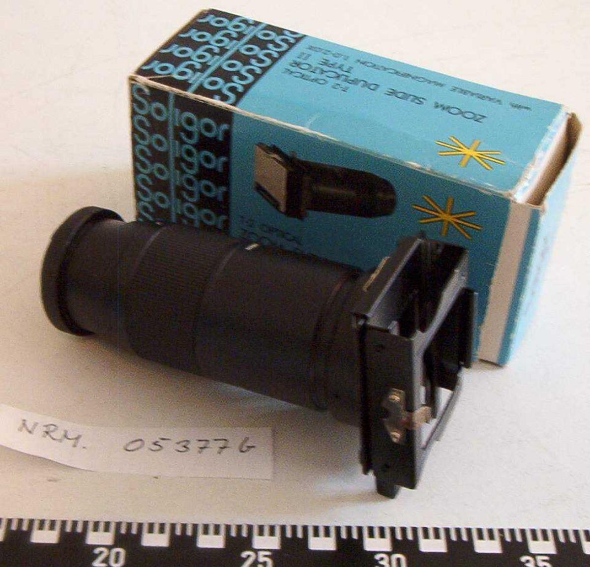 NRM.05377a - Optical slides dublicator   NRM.05377b - T-2 Optical slides dublicator