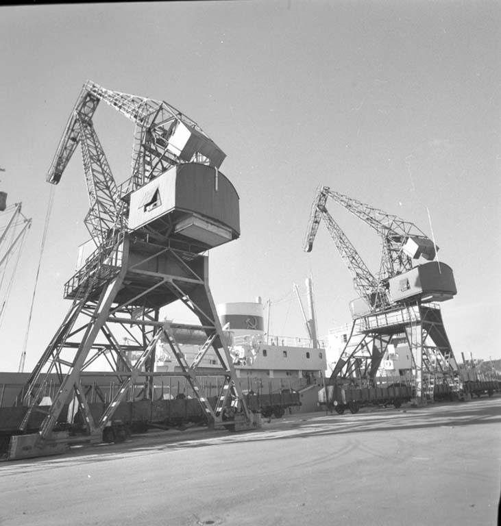 """Enligt notering: """"Uddevalla Nya Industriområde juni -60""""."""