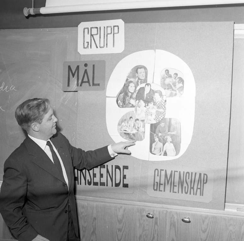 """Enligt notering: """"Scoutundervisning Yrkesskolan nov -60""""."""