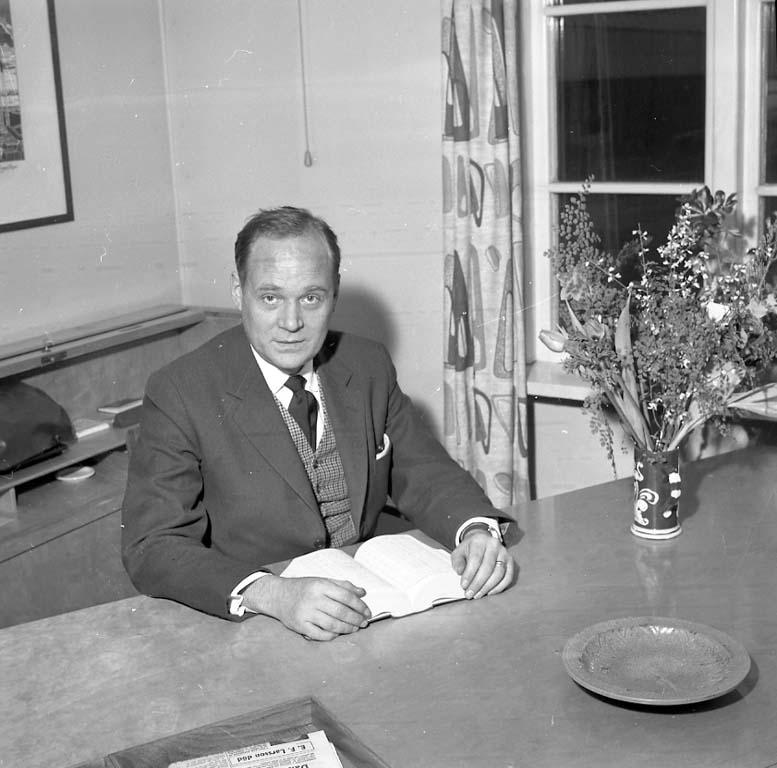 """Enligt notering: """"Fosfaten Chef Jan 1961""""."""