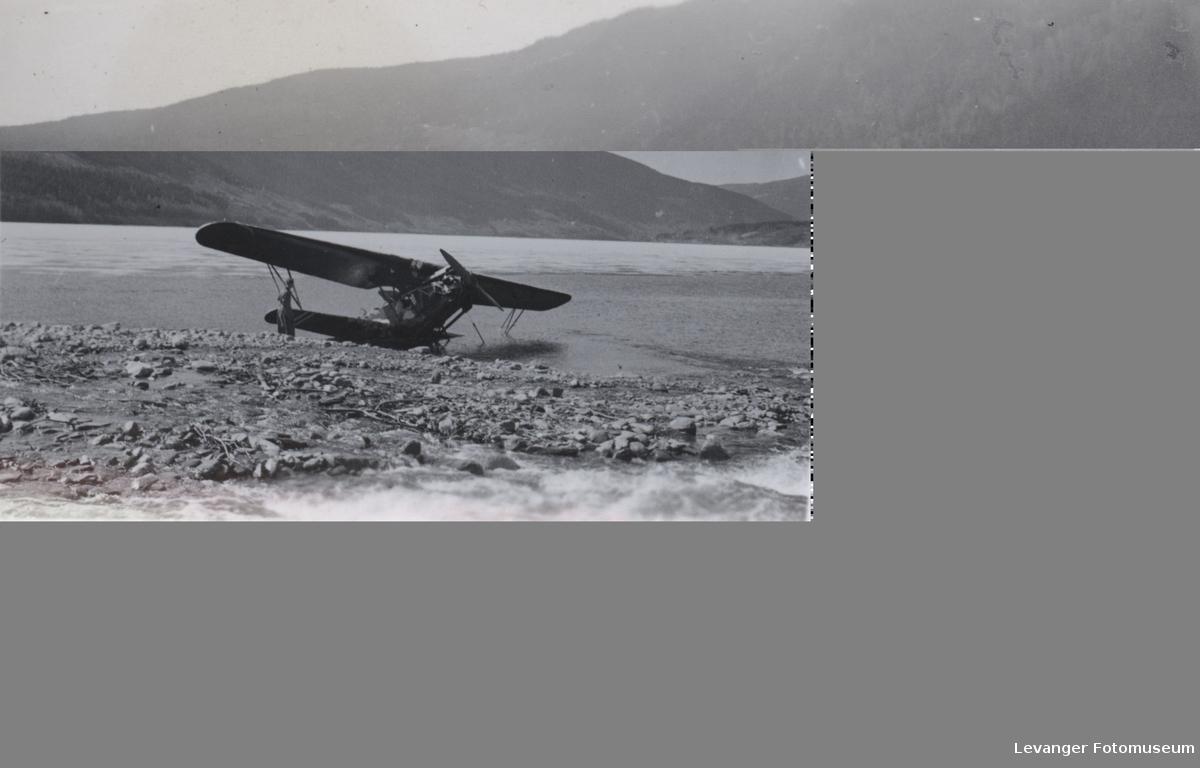 Norsk Fokker på Losna, Dovre i 1940
