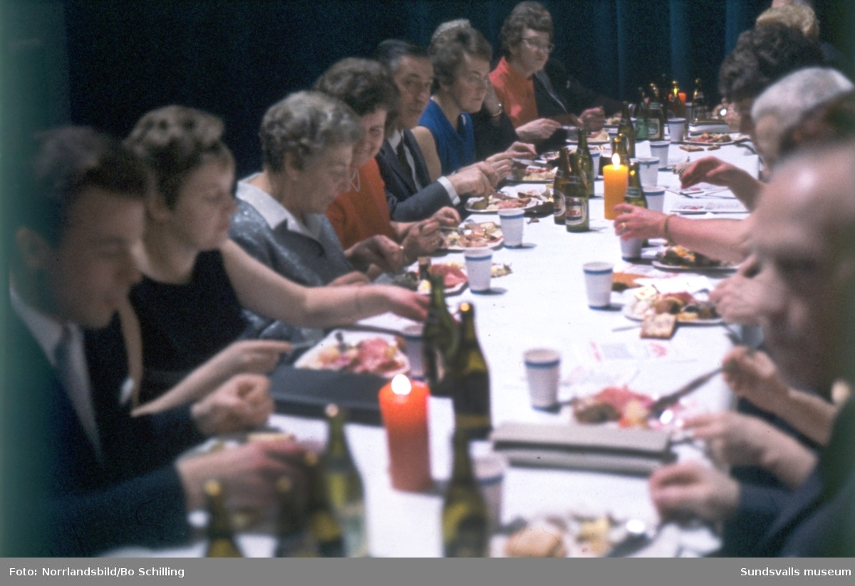 Konsums personalfest i Sporthallen 1966.