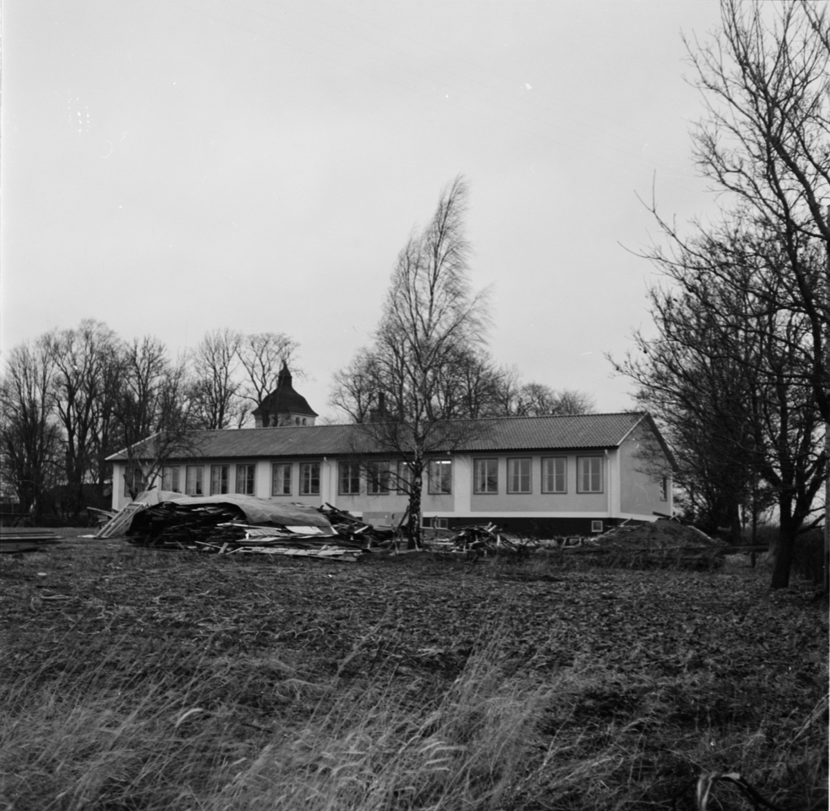 Balingsta skola, Balingsta socken, Uppland 1955