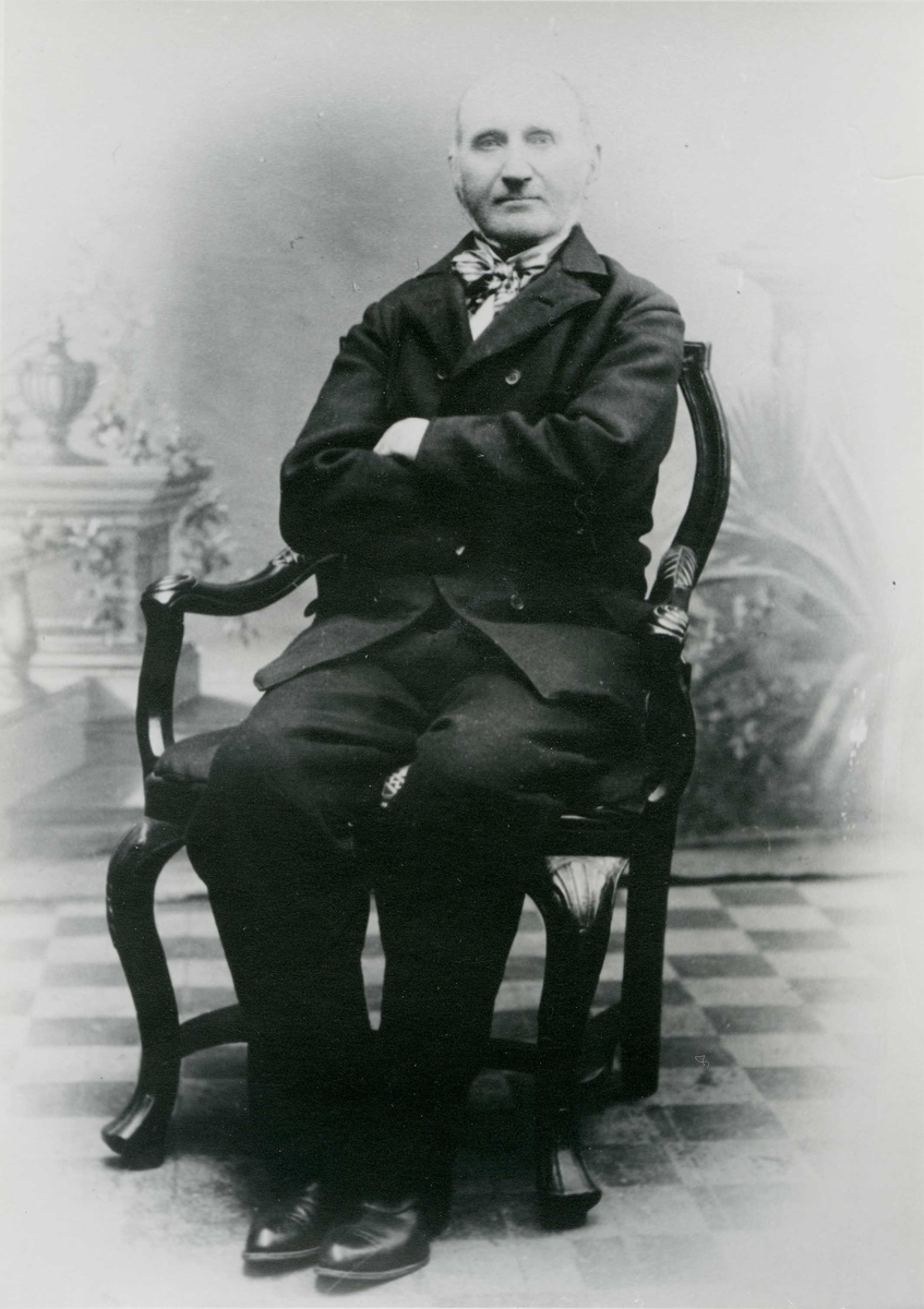 Portrett - Eldre herre.
