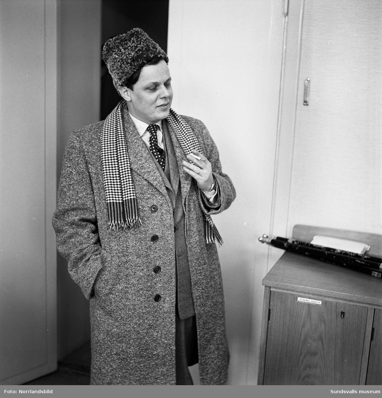 N.S. Backlund, porträtt.
