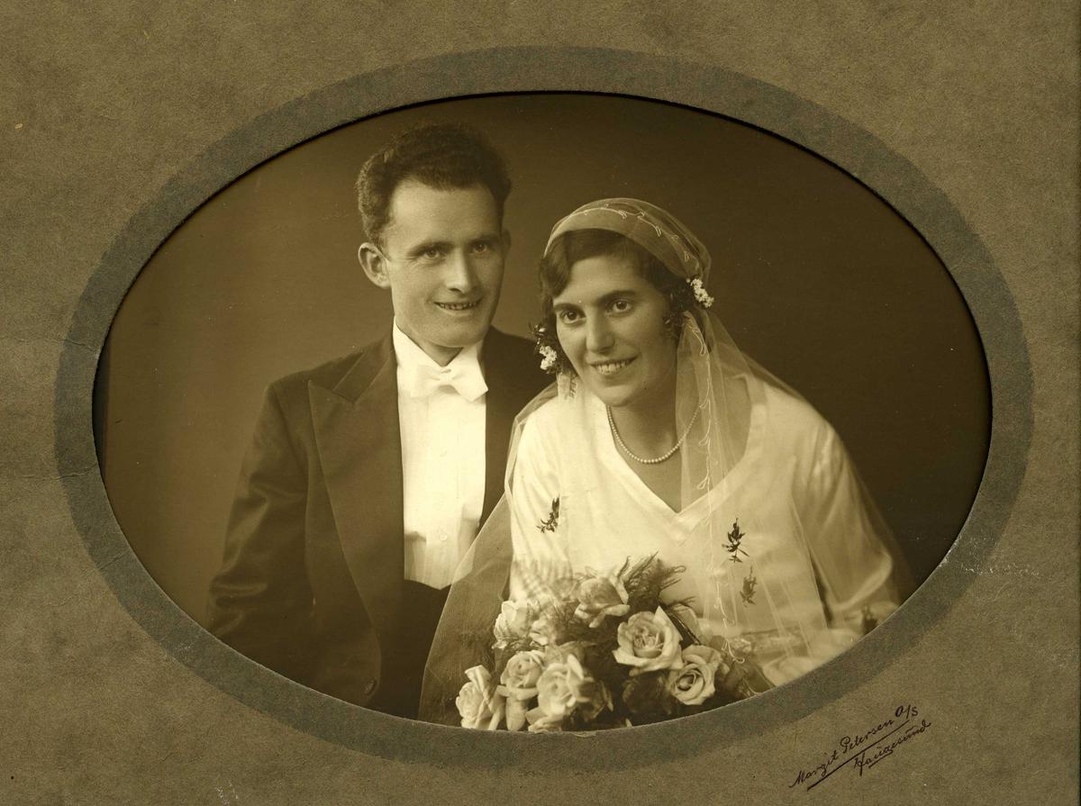 Brudebilde av Endre og Malene Dommersnes