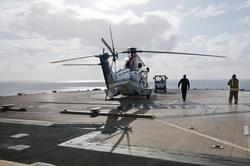 Helikopter av typen Super Puma fra CHC Helikopter Service sl