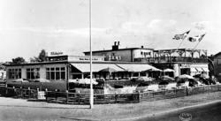 Restaurang Höllviksgården. Skytts härad Höllviken.