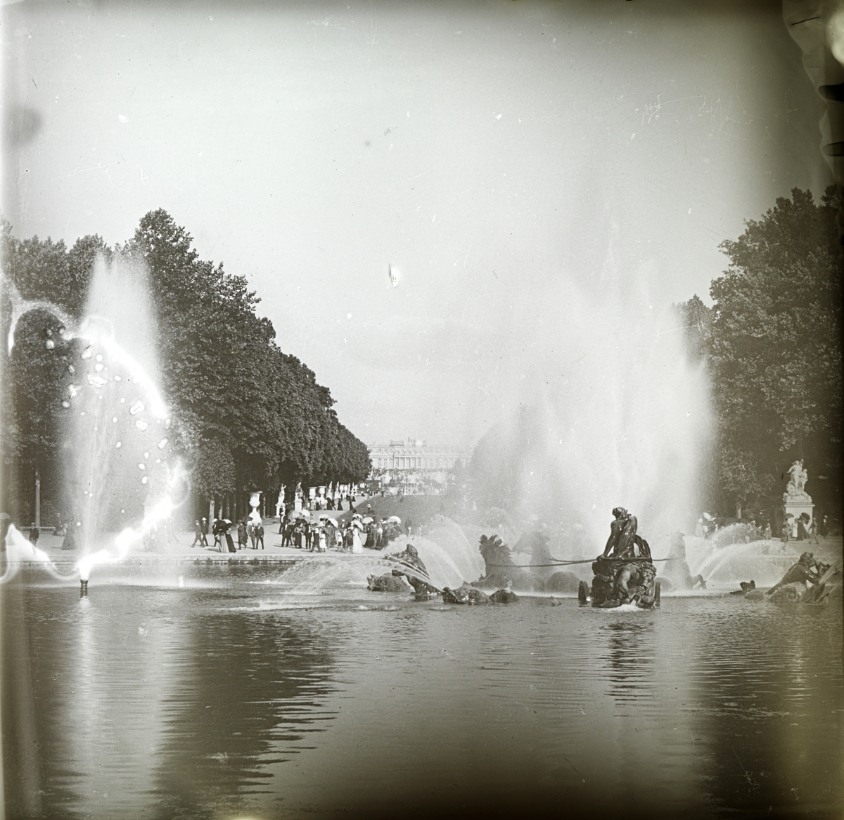 Frankrike: Versailles, Paris