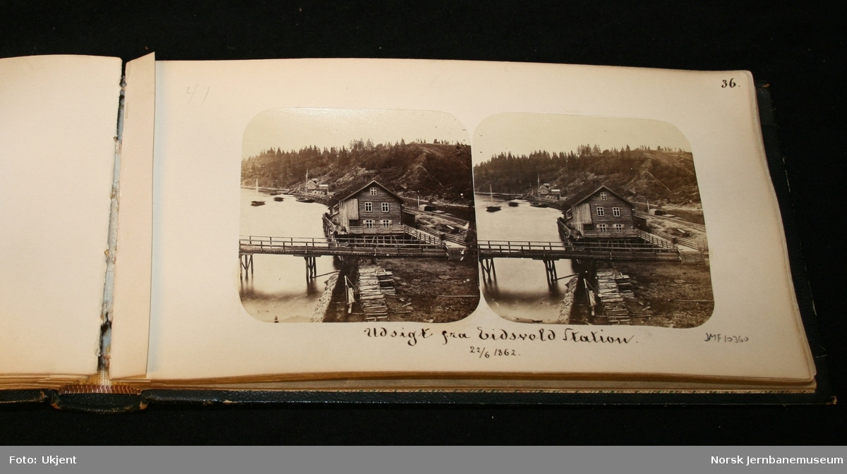 Stereobilder fra Kongsvinger- og Grundsetbanen