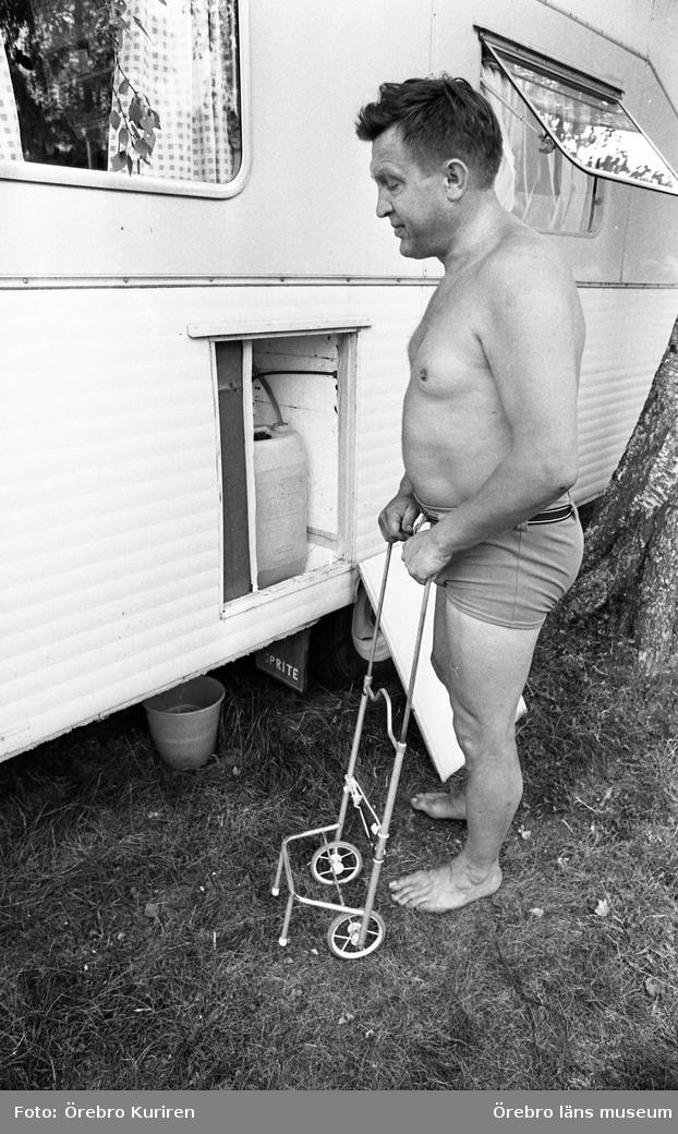 Husvagnsfolk 25 juli 1969Hästhagen