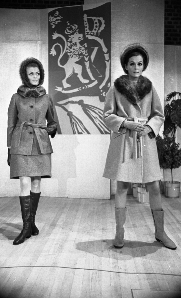 Domus modevisning 15 september 1967Medborgarhuset