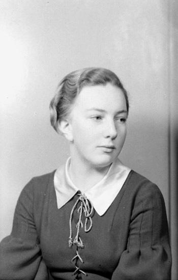 En kvinna.Ulla Jäderlund
