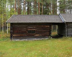 Fjøs fra Langnebba, Åsnes Finnskog (Foto/Photo)