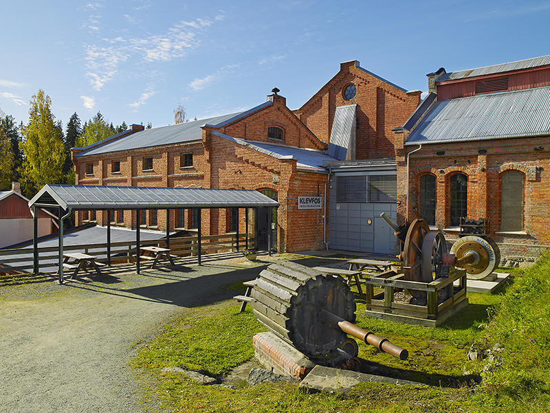 Klevfos Cellulose & Paper Mill, one of Norway's smallest paper mills–now an industrial museum. (Foto/Photo)