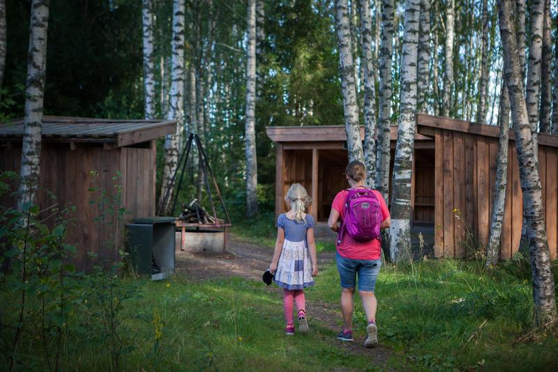Foto av en mor og datter på tur (Foto/Photo)