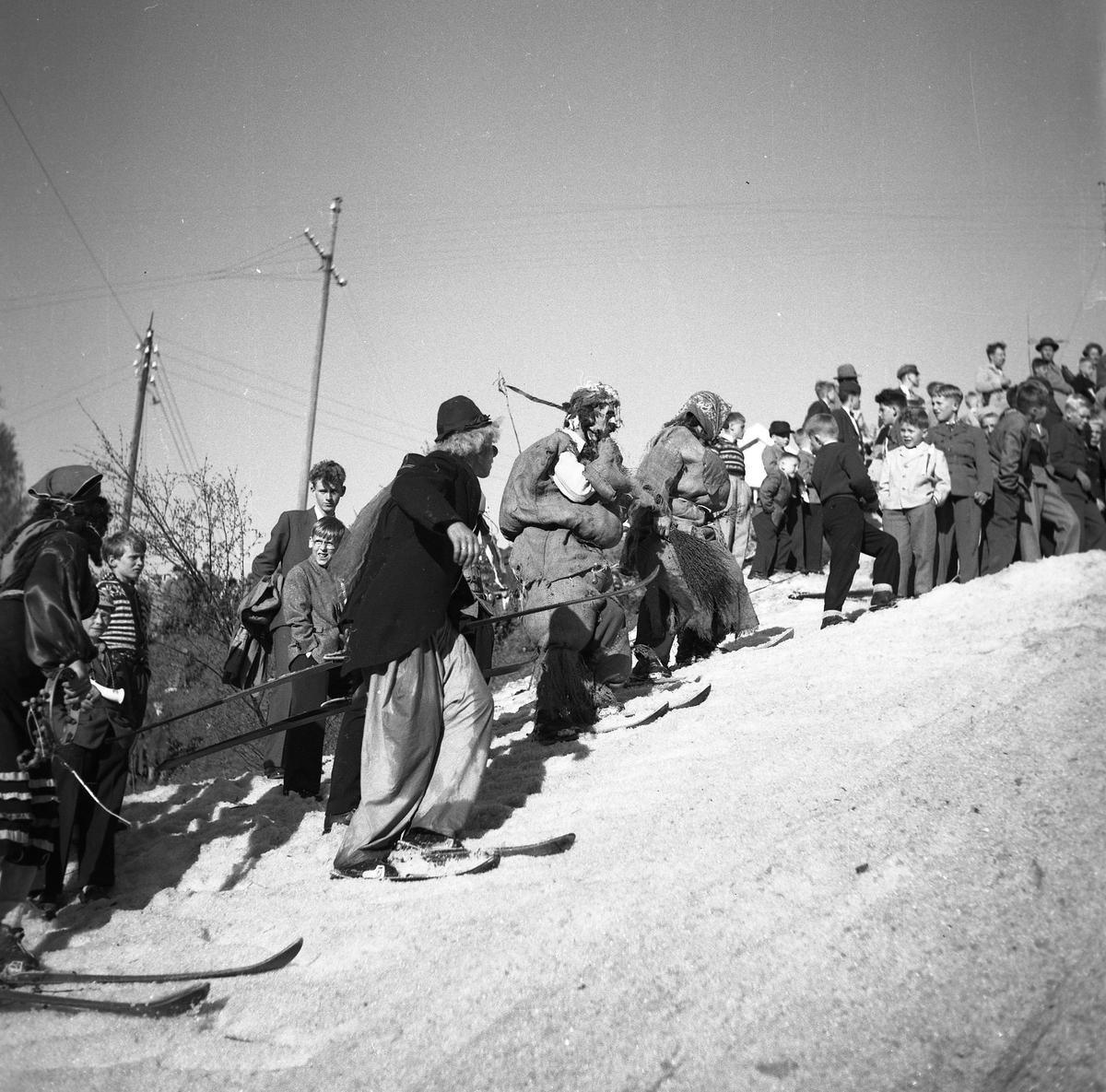 Ski show at Skauløkka, Kongsberg