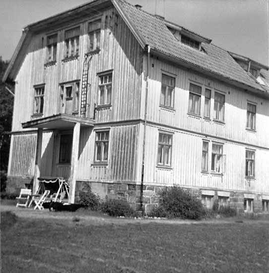 Gamla ålderdomshemmet och fattighuset på Åseröd