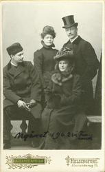 Tore Strindberg, Anna Charlier, Maria Strindberg (Skjöldebra