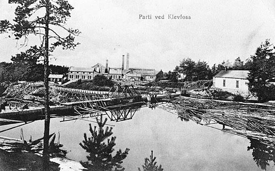 Klevfos Cellulose & papirfabrik