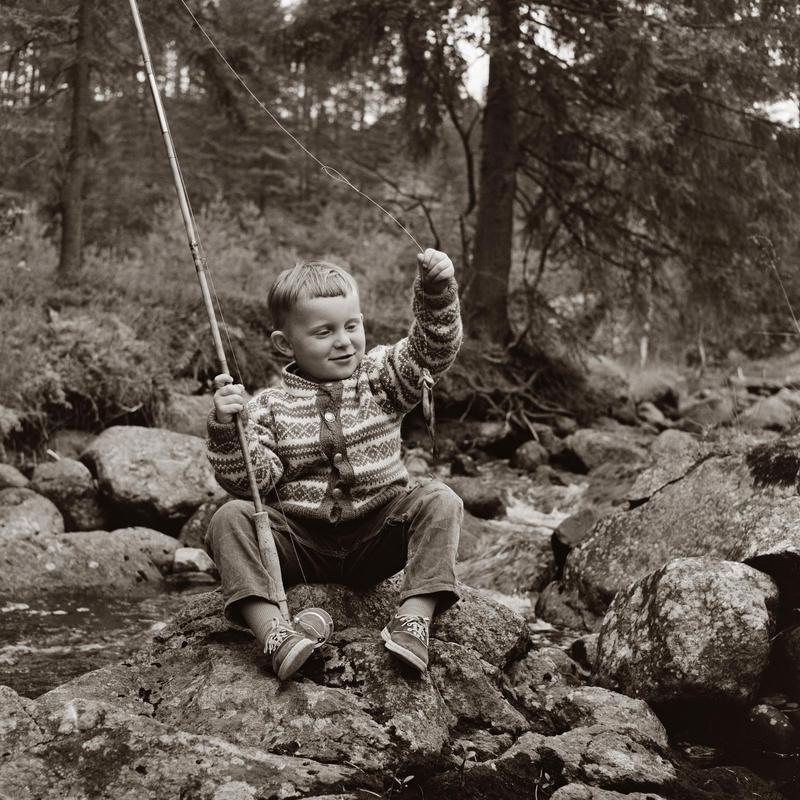 Vidar Søgård på fisketur Photoshop