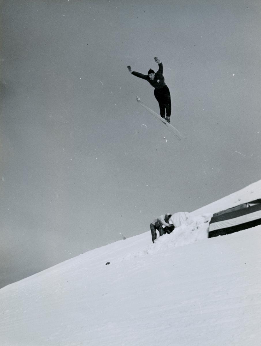 Kongsberg skier Kjell Stordalen in Sun Valley, USA