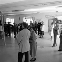 Invigning av industrihistorisk utställning i Svartvik.