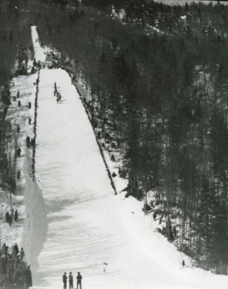The ski jump at Planica