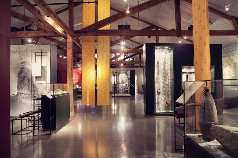 På Informasjonssenteret er Bergverksutstillingen en del av de faste utstillingene på Orkla Industrimuseum.