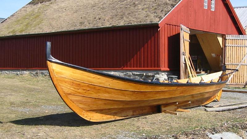 Nordmørsbåten Valsøygeita, bygd i 2003.